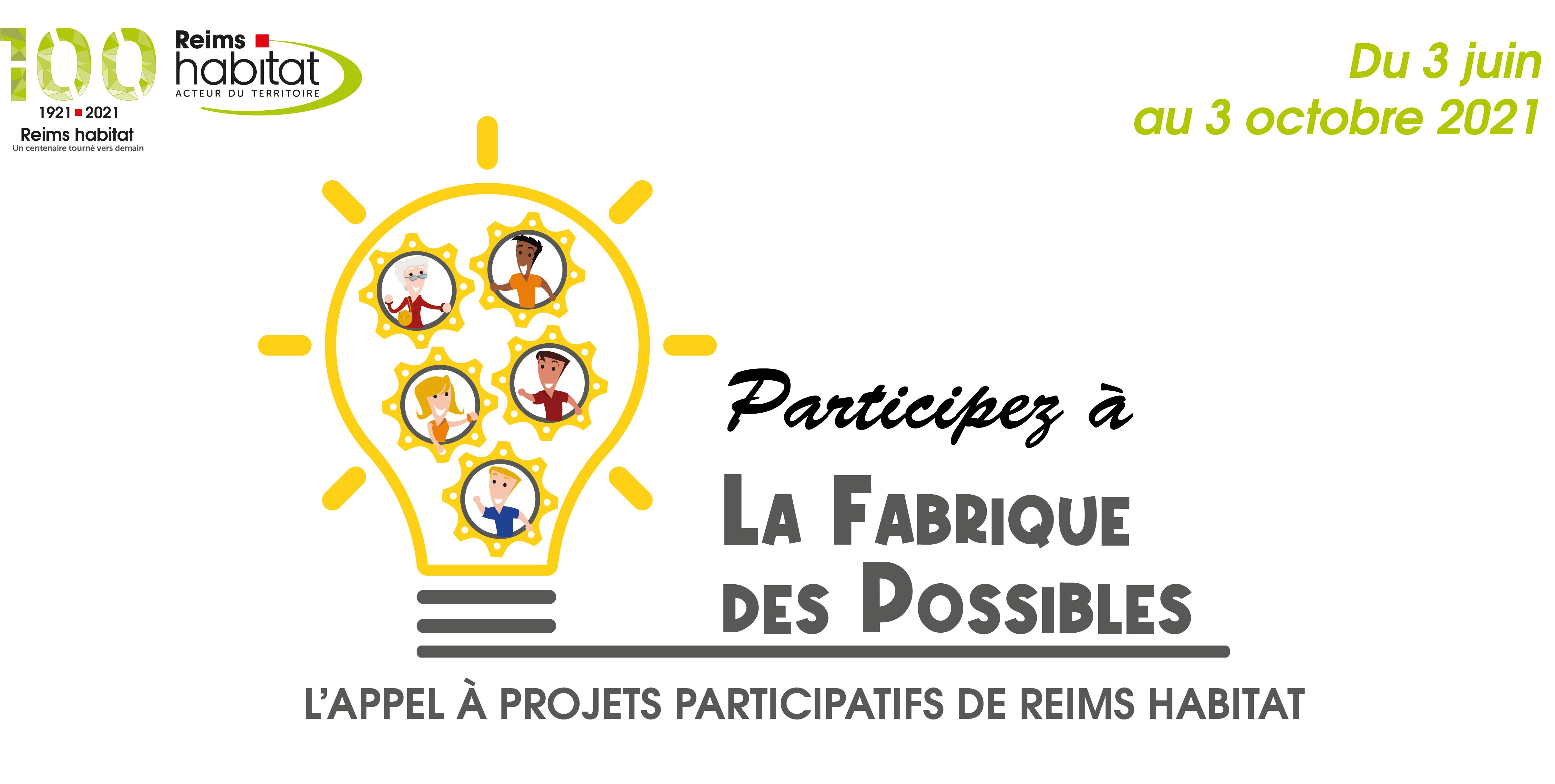 La Fabrique des Possibles : l'Appel à projets participatifs de Reims habitat