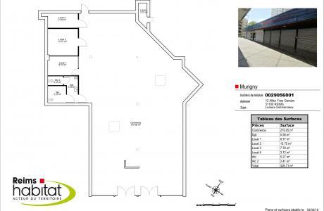 Annonce immobilière - location - Locaux - Reims - 51